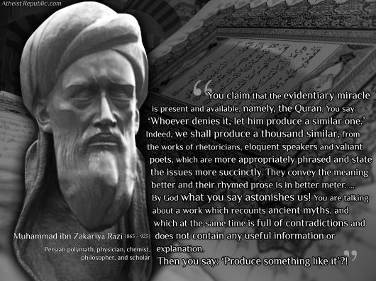 buatlah satu surat (saja) yang semisal Al Qur'an itu