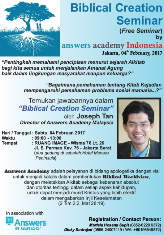 Seminar Penciptaan Alkitabiah