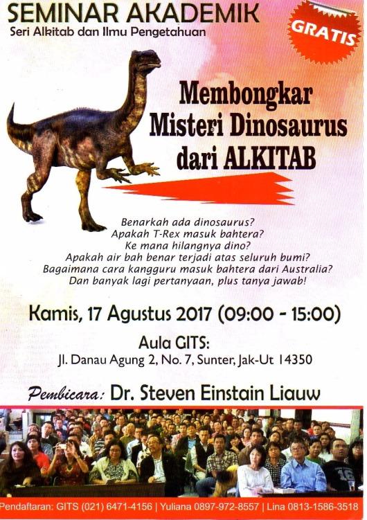 Membongkar Misteri Dinosaurus dari Alkitab #1Satunya Firman Allah Yang Maha Benar